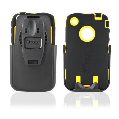 Original Otterbox Apple iPhone 3G 3GS Defender Series Case - Yellow/Black