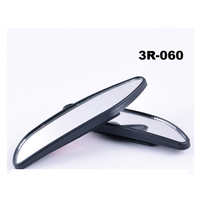 "Blind Spot Mirror Long & Wide Design 5.25"" x 1"", Angle Adjustable, Universal for all Cars, Trucks & Motorcycles"