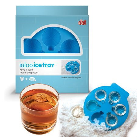 DCI Igloo Ice Tray - Makes 6 Mini Ice Igloos! Keep It Cool!