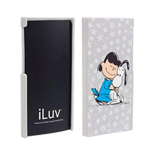 iLuv Snoopy Character Series Gray Lucy & Snoopy Rubberized Hard Case for Apple iPod Touch 7