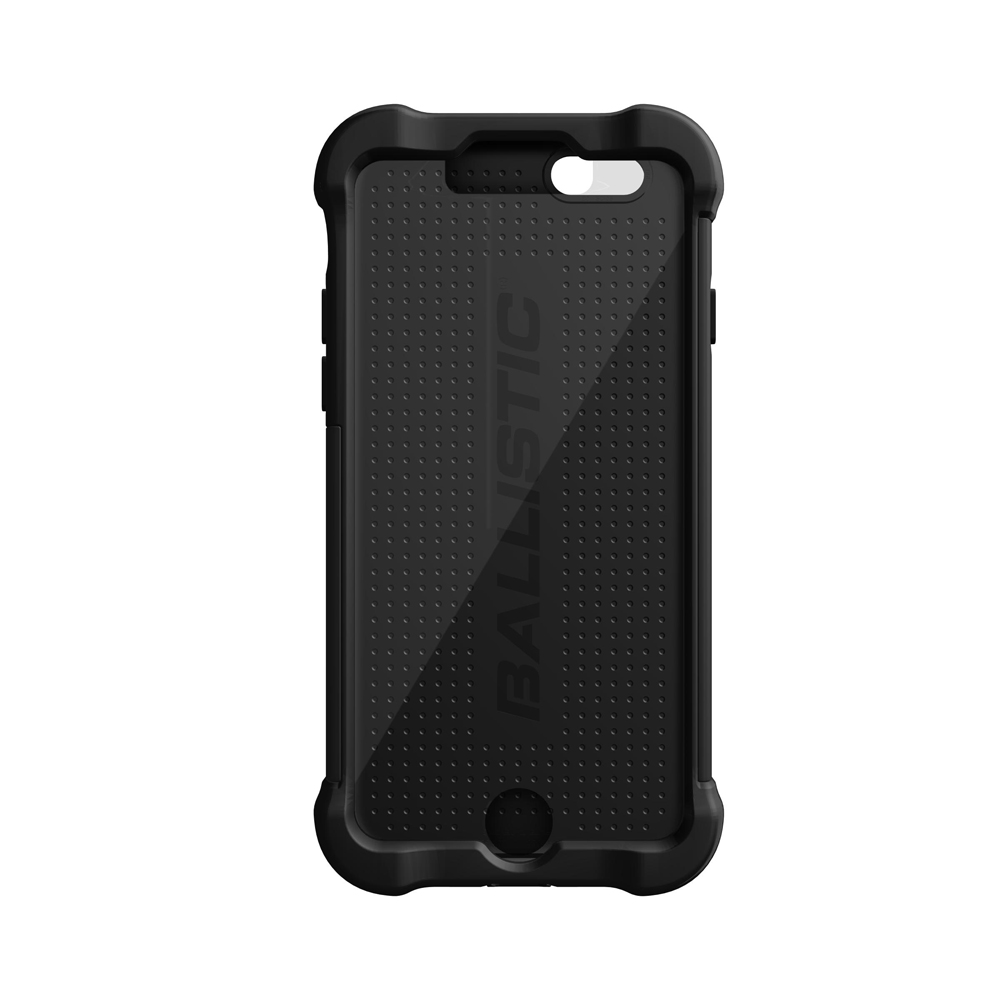 "Ballistic Black Apple Iphone 6 (4.7"") Tough Jacket Maxx Series Hard Case On Silicone Skin Case W/ Holster , Great Otterbox Alternative!"