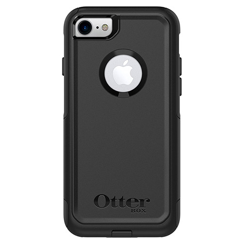 Apple iPhone 8/7/6S/6 Case, Otterbox [Black] Commuter Series Hybrid Hard Cover Case