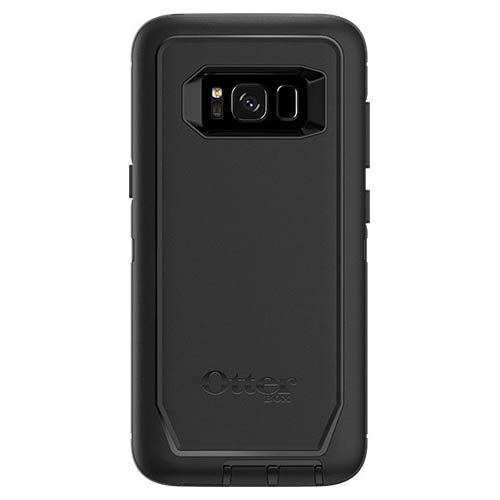 Samsung Galaxy S8 Otterbox Case, Otterbox [Black] Defender Series Hard Cover Case w/ Holster