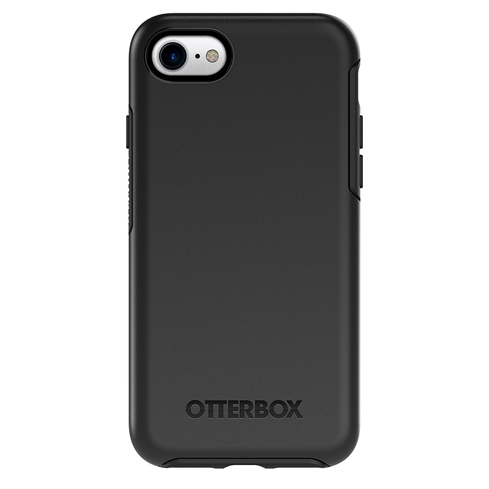 [Otterbox] Apple iPhone 8/ iPhone 7 [Black] Symmetry Series Hard Cover Case