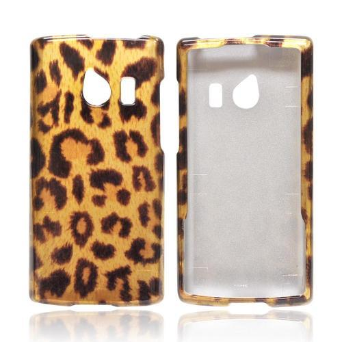 OEM MultiPro Huawei Ascend Q M660 Hard Case - Gold/ Black Leopard