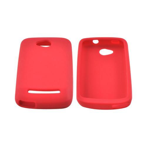OEM MultiPro CoolPad Quattro 4G Silicone Case - Red