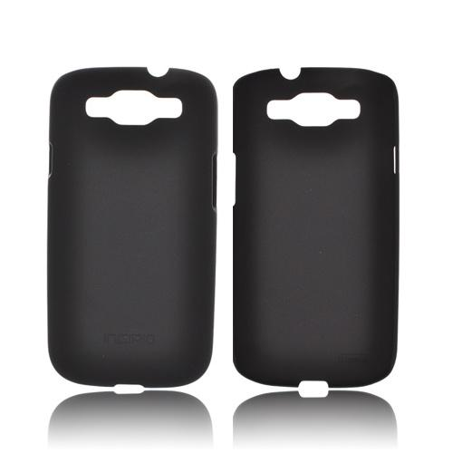 Incipio Feather Samsung Galaxy S3 Rubberized Hard Case w/ Screen Protector - Black