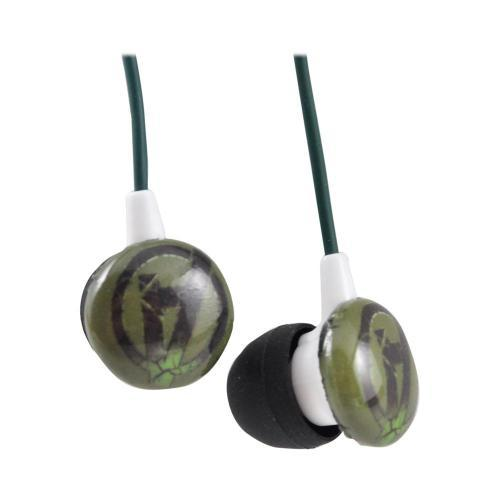 Officially Licensed Marvel Stereo Earbud Headset (3.5mm) - The Hulk Avengers Logo
