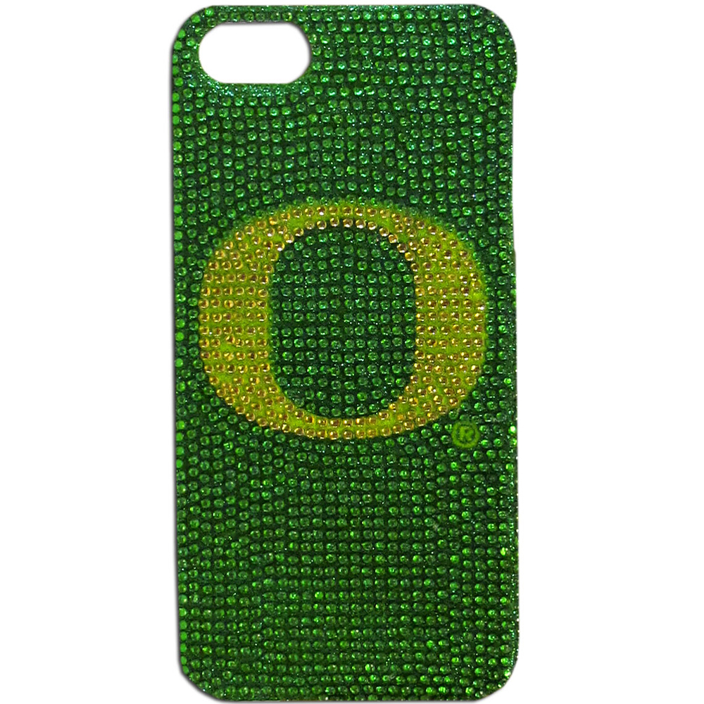 Oregon Ducks Bling Gems Hard Case for Apple iPhone 5/5S - NCAA Licensed