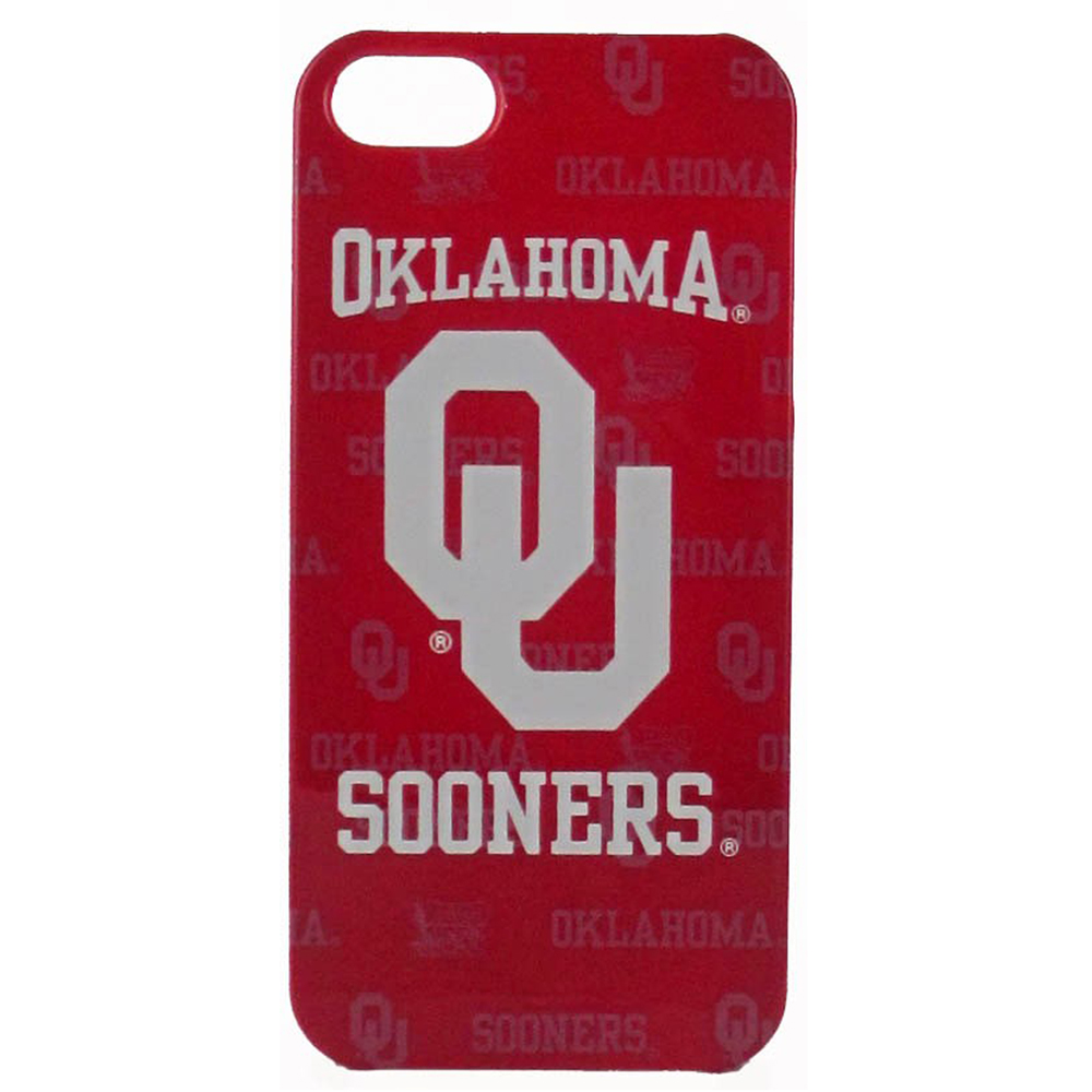 Oklahoma Sooners Hard Cover Case for Apple iPhone 5/5S - NCAA Licensed