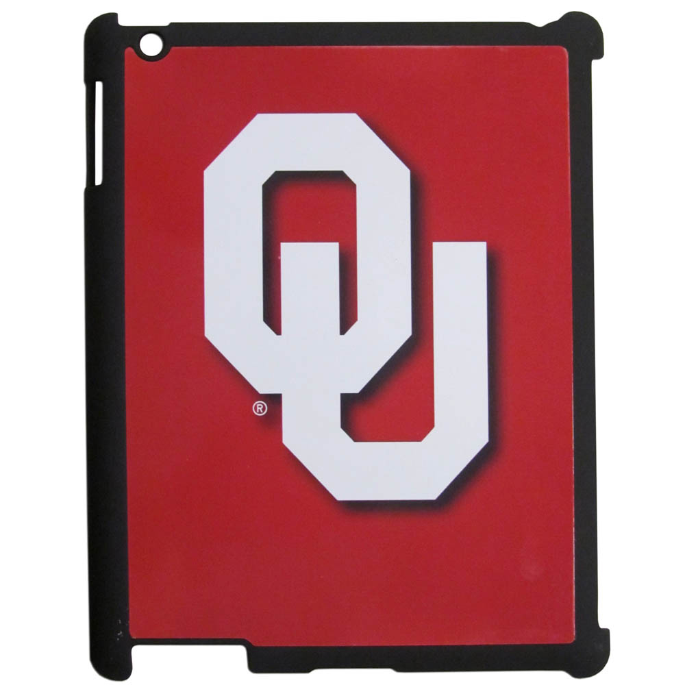 Oklahoma Sooners Hard Case for Apple iPad 2/3/4 - NCAA Licensed