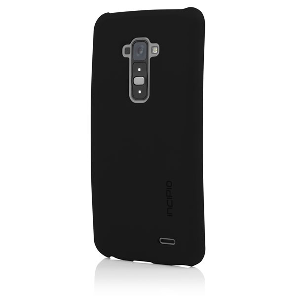 Incipio Black Feather Series Rubberized Hard Case for LG G Flex - LGE-229-BLK