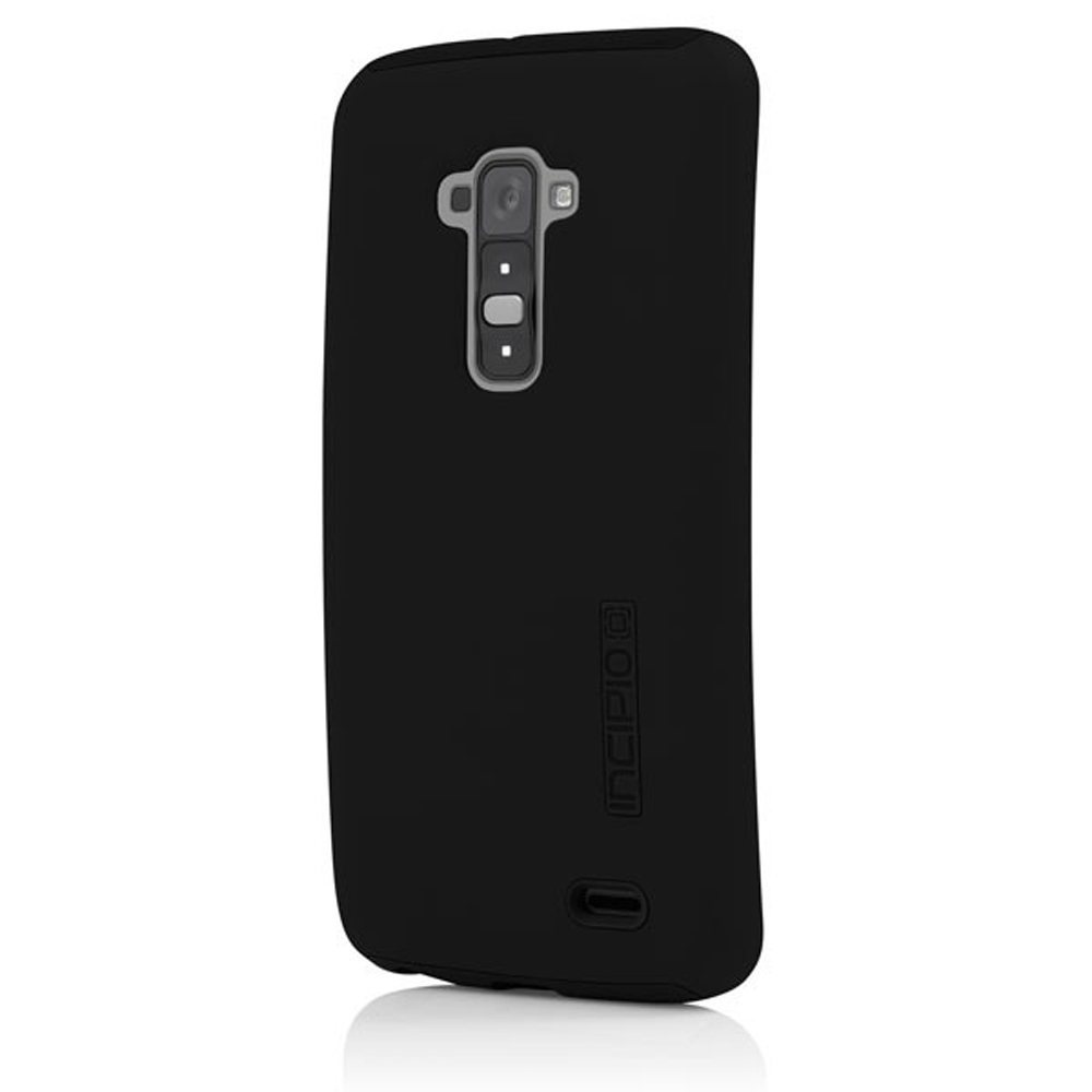 Incipio Black Dual PRO Series Rubberized Hard Case on Silicone for LG G Flex -LGE-231-BLK