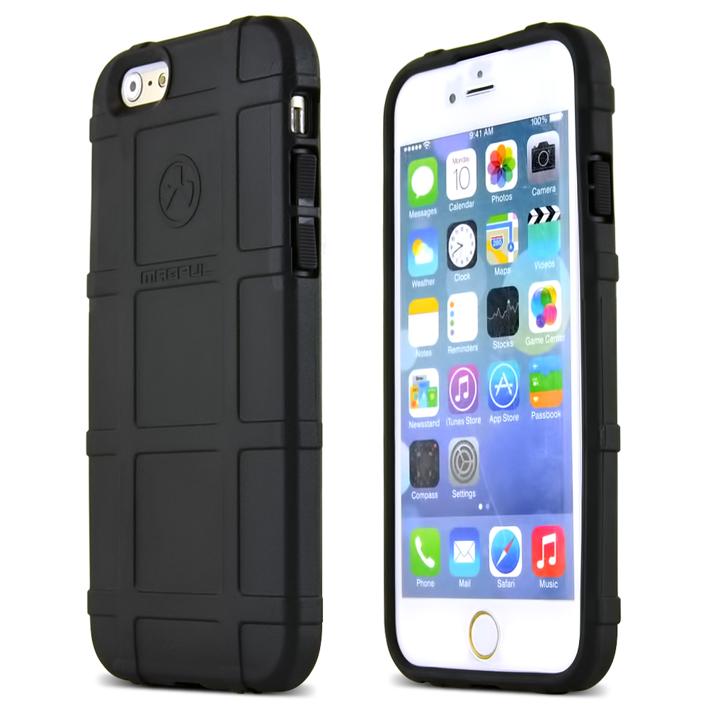 Apple iPhone 6/ 6S Case, Magpul [Black] Field Case Slim & Protective Rubberized Matte Finish Snap-on Hard Polycarbonate Plastic Case Cover