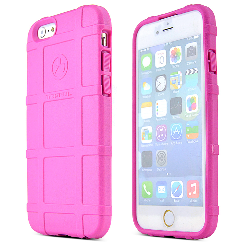 Apple iPhone 6/ 6S Case, Magpul [Pink] Field Case Slim & Protective Rubberized Matte Finish Snap-on Hard Polycarbonate Plastic Case Cover
