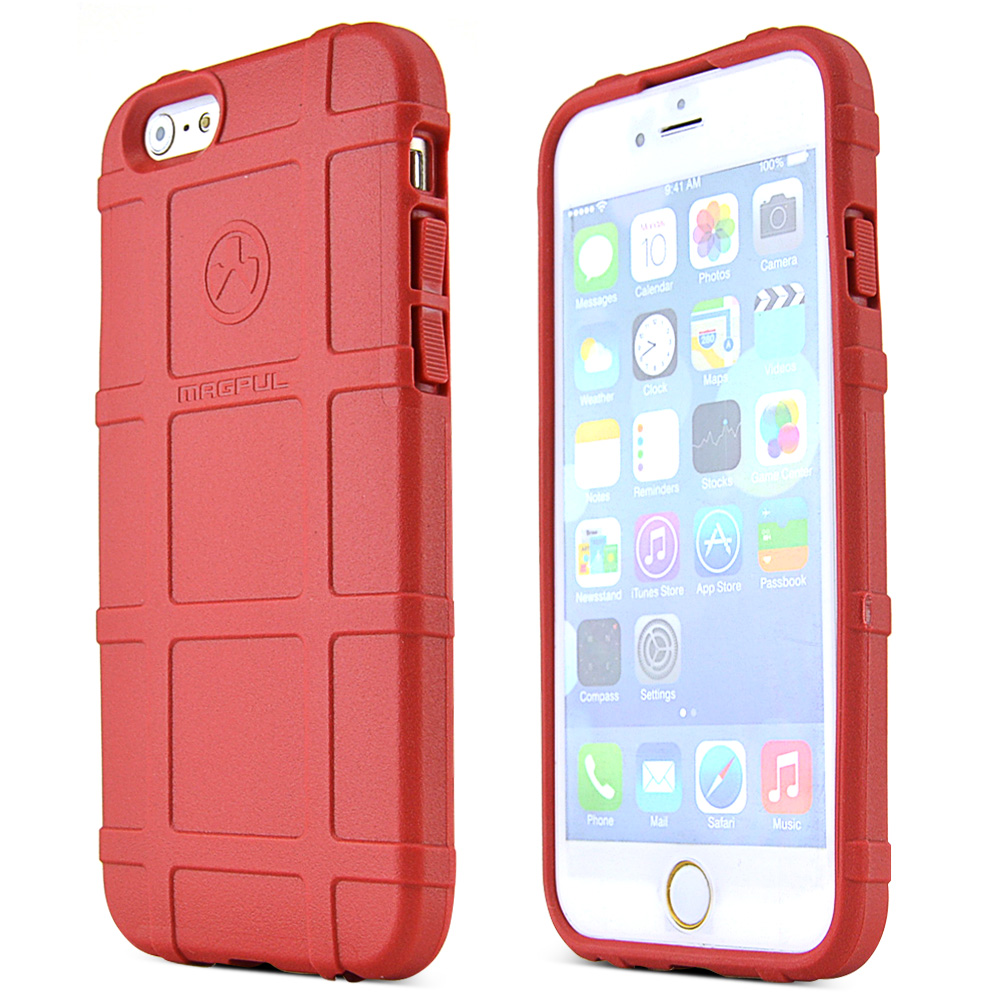 Apple iPhone 6/ 6S Case, Magpul [Red] Field Case Slim & Protective Rubberized Matte Finish Snap-on Hard Polycarbonate Plastic Case Cover