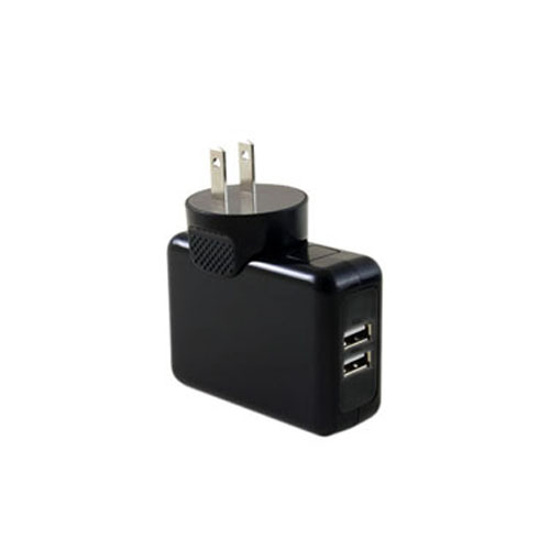 Tenergy™ 2-Port USB Wall Charger [3.1amps] - Charge a Tablet & Phone at the Same Time!