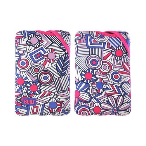 OEM Built Amazon Kindle Fire/ Google Nexus 7/ Nexus 7 2 Twist Top Neoprene Sleeve Case, E-TWKF1-MFB - Pink/ White Mosaic Flower