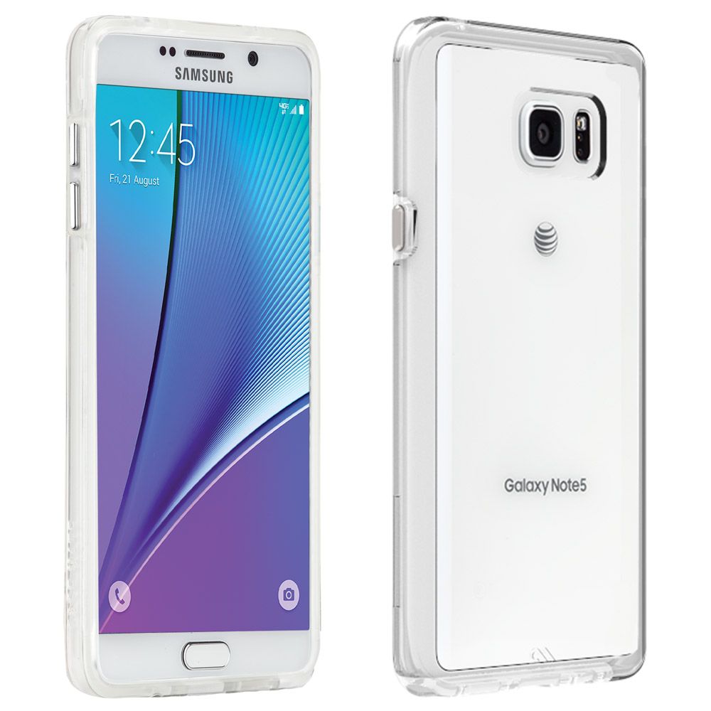 Samsung Galaxy Note 5, Case-Mate [Clear] Naked Tough Series Slim & Protective Crystal Glossy Snap-on Hard Polycarbonate Plastic Case Cover