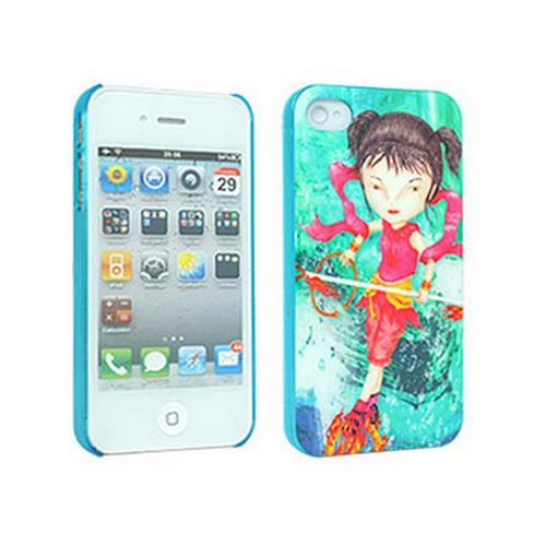 Odoyo X A.JIN Series Nimbleness Hard Case for Apple iPhone 4/4S