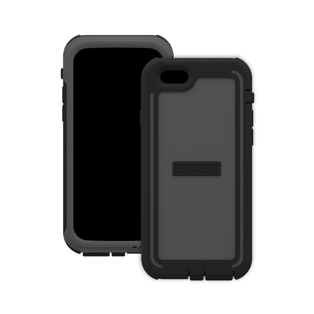 iPhone 6 Hybrid Case by Trident | [Gray] Cyclops Rugged Fused Polycarbonate & Thermo Poly Elastomer Hybrid Case W/ Built-in Screen Protector