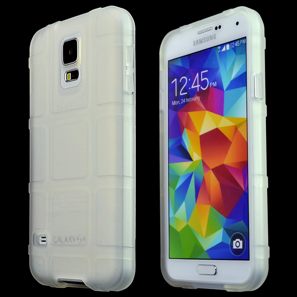 Galaxy S5 [Clear] [magpul] Field Case - Best Selling Premium Quality Protective Strong Tpu Case - [perfect Fitting Samsung Galaxy S5 (magpul) Case]