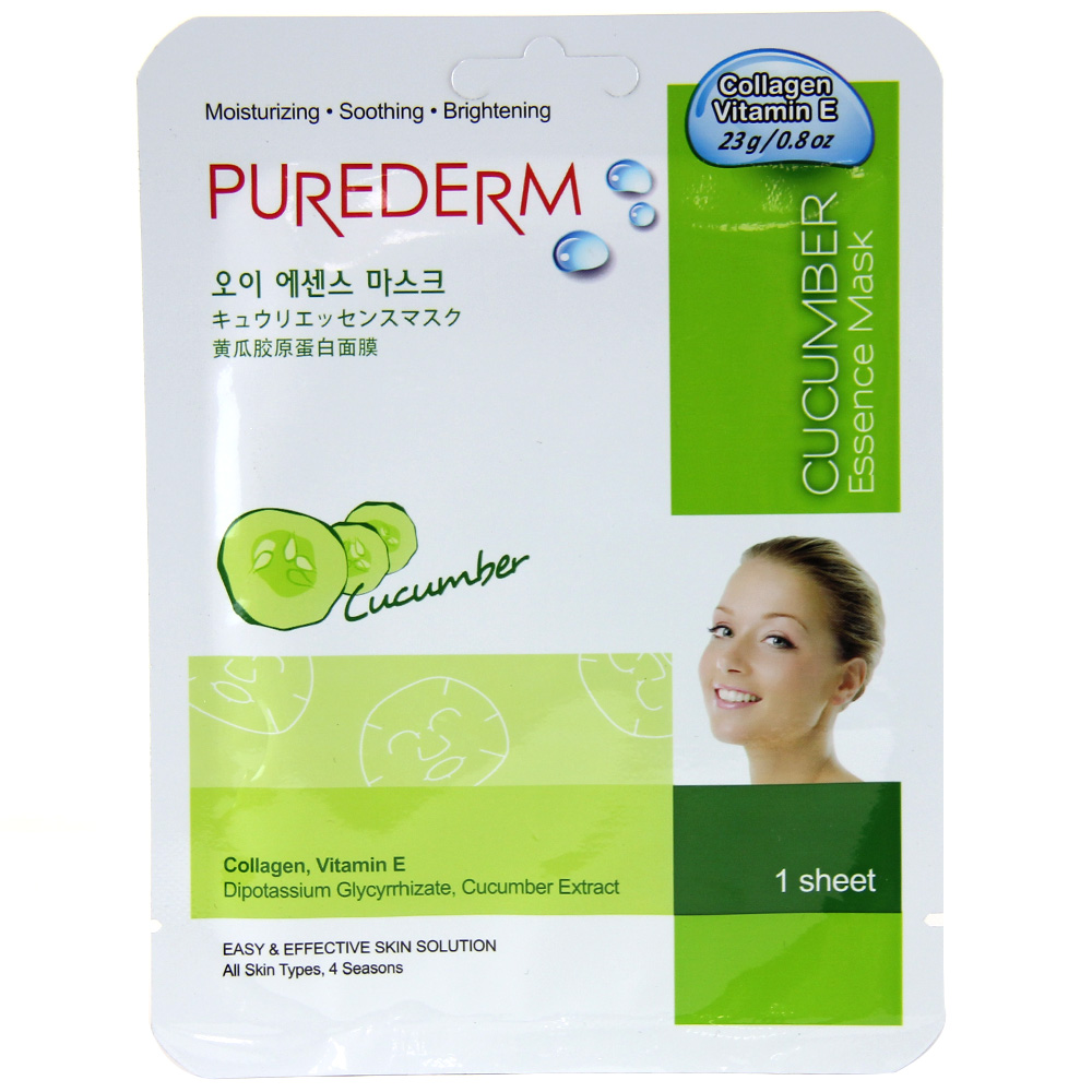 Purederm Essence Mask - Cucumber
