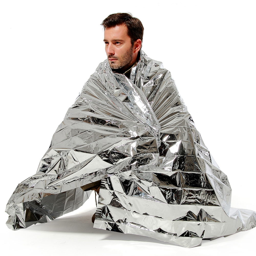 N-Rit Wind & Waterproof Lightweight Emergency Blanket