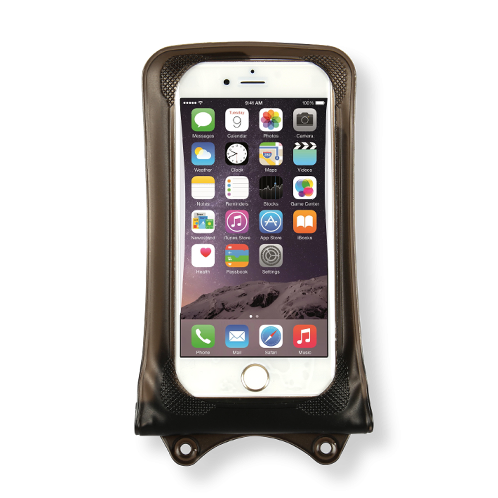 DiCAPac Waterproof Case for Apple iPhone SE/5/5S and iPhone 6 [Smoke] - Protect Your Smartphone From Water This Summer! WP-i10