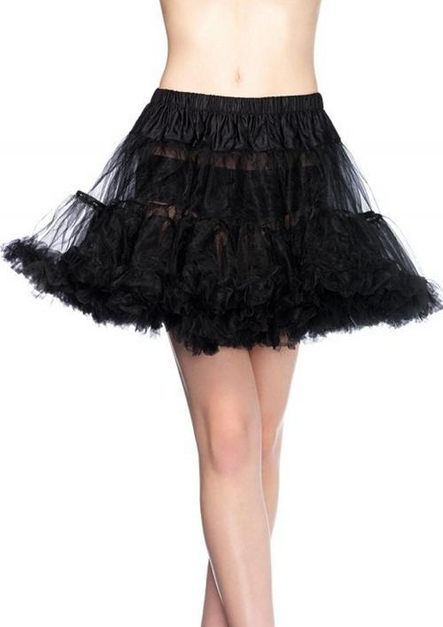 LegAvenue Halloween Costume Black Petticoat w, Layered Tulle