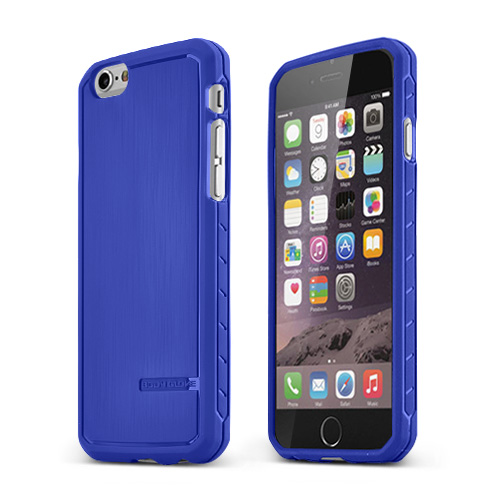 Blue Body Glove Satin Series Slim Protective TPU Crystal Silicone Case Made for Apple iPhone 6 (4.7 inch) - 9448801