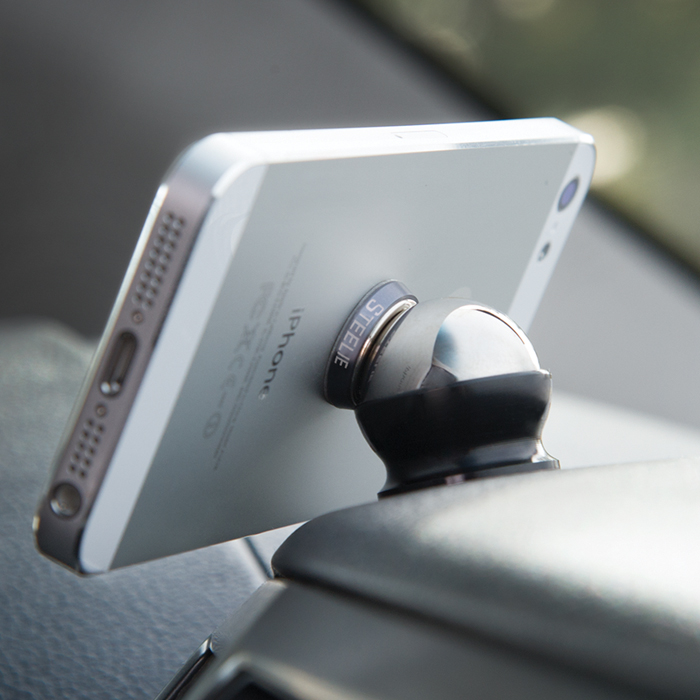 Nite Ize Steelie Dashball Car Mount Kit [Can be placed anywhere in the car, rotates 360 degrees, no more fumbling your phone!]