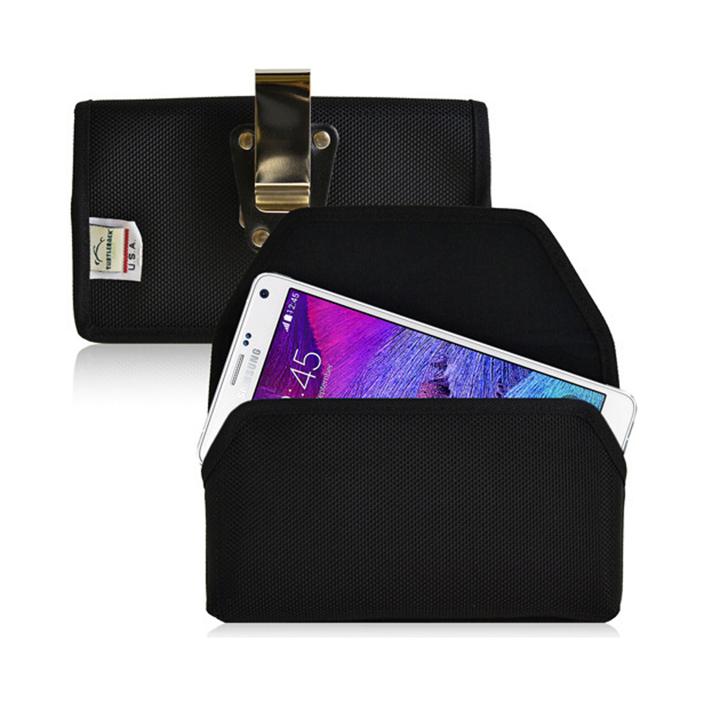 Samsung Galaxy Note 4 Case,  [Ballistic Nylon]  Heavy Duty Case with Magnetic Closure Holster 2XL Pouch
