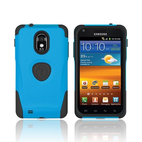 Original Trident Aegis Samsung Epic 4G Touch Hard Cover Over Silicone Case w/ Screen Protector, AG-EPIC-BL - Blue/ Black