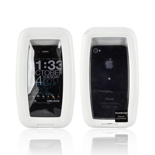 Waterproof Aqua Case for Smartphones iPhone 3G/3Gs/4 & Blackberry - White