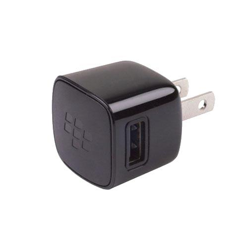 Original Blackberry USB Power Plug, ASY-24479-002 - Black