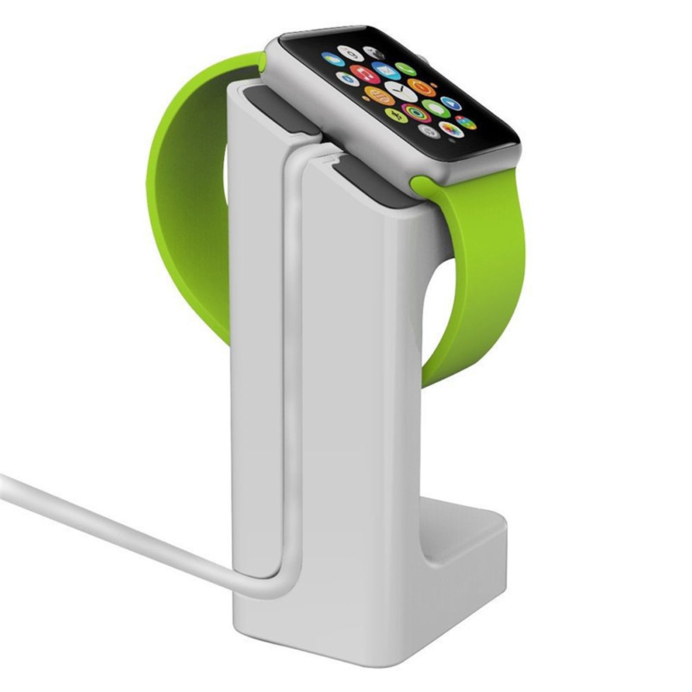 Docking Station Holder for Apple Watch [White] - Fits Either 38mm or 42mm