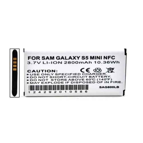 Samsung Galaxy S5 Mini Battery, Standard Replacement Lithium-ion Battery w/ NFC Function [2800 mah]