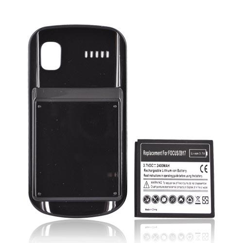 Samsung Focus i917 Extended Battery w/ Door (2400mAh) - Black