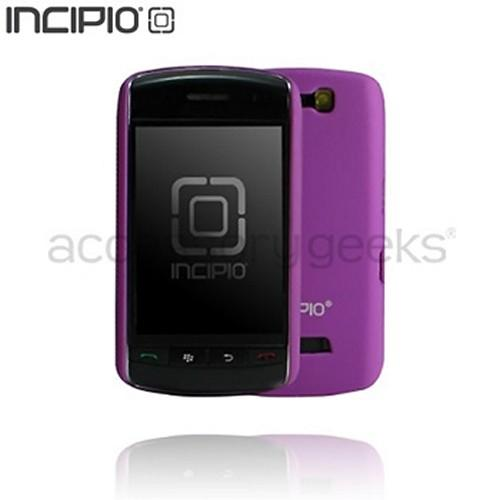 Original Incipio Feather Blackberry Storm 9530 Hard Case w/ 2 Screen Protectors - Purple