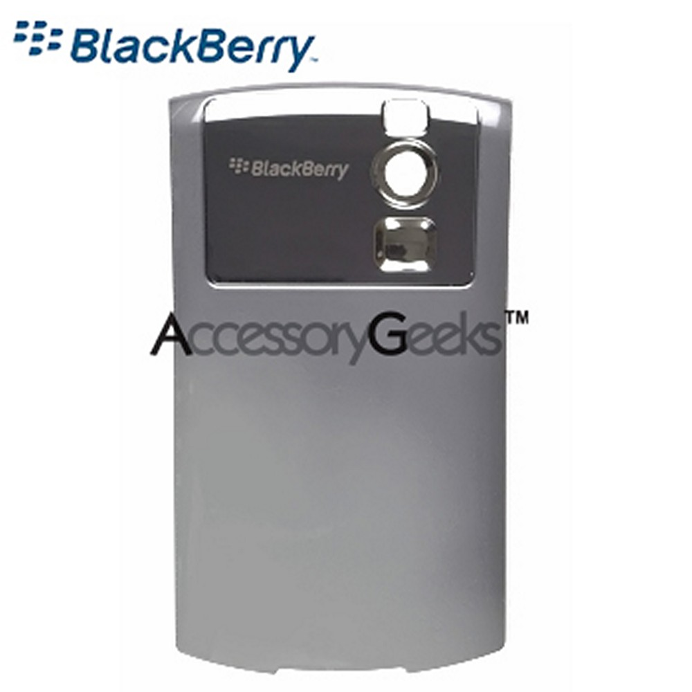 Original Blackberry Curve 8330 Standard Battery Door - Silver