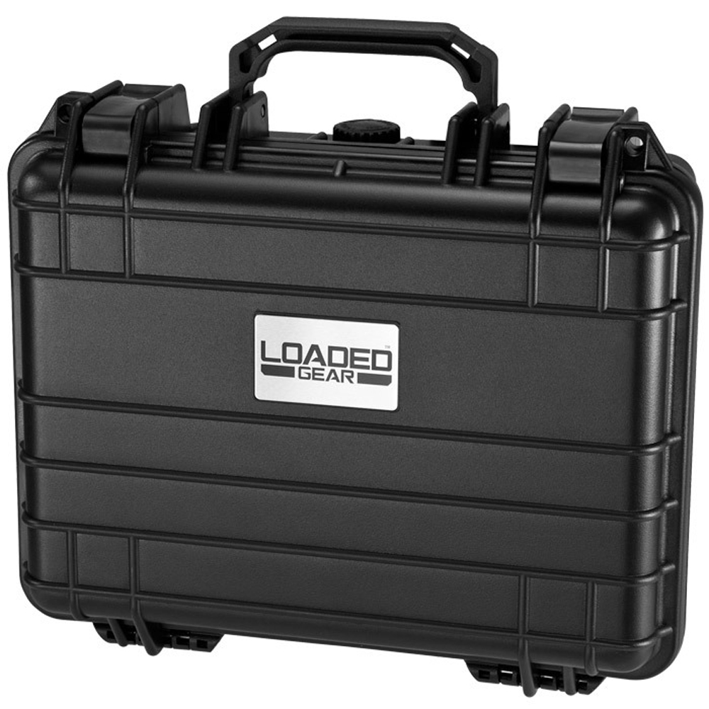 Barska Hard Case, Loaded Gear HD-200 Watertight Tough Protection Storage Case [Black]