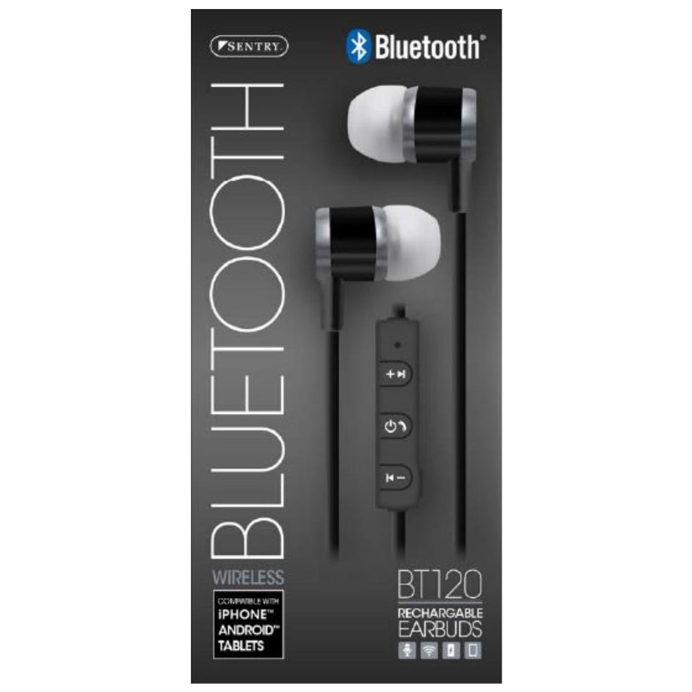 Bluetooth Headphones, Sports Wireless Earbud Headset w/ Microphone [Space Gray]