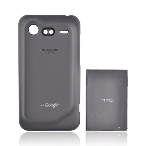 Original HTC Droid Incredible 2 Extended Battery (2150 mAh) and Door, BTE6350 - Black