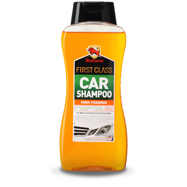 Bullsone First Class High Foaming Car Shampoo [Orange]