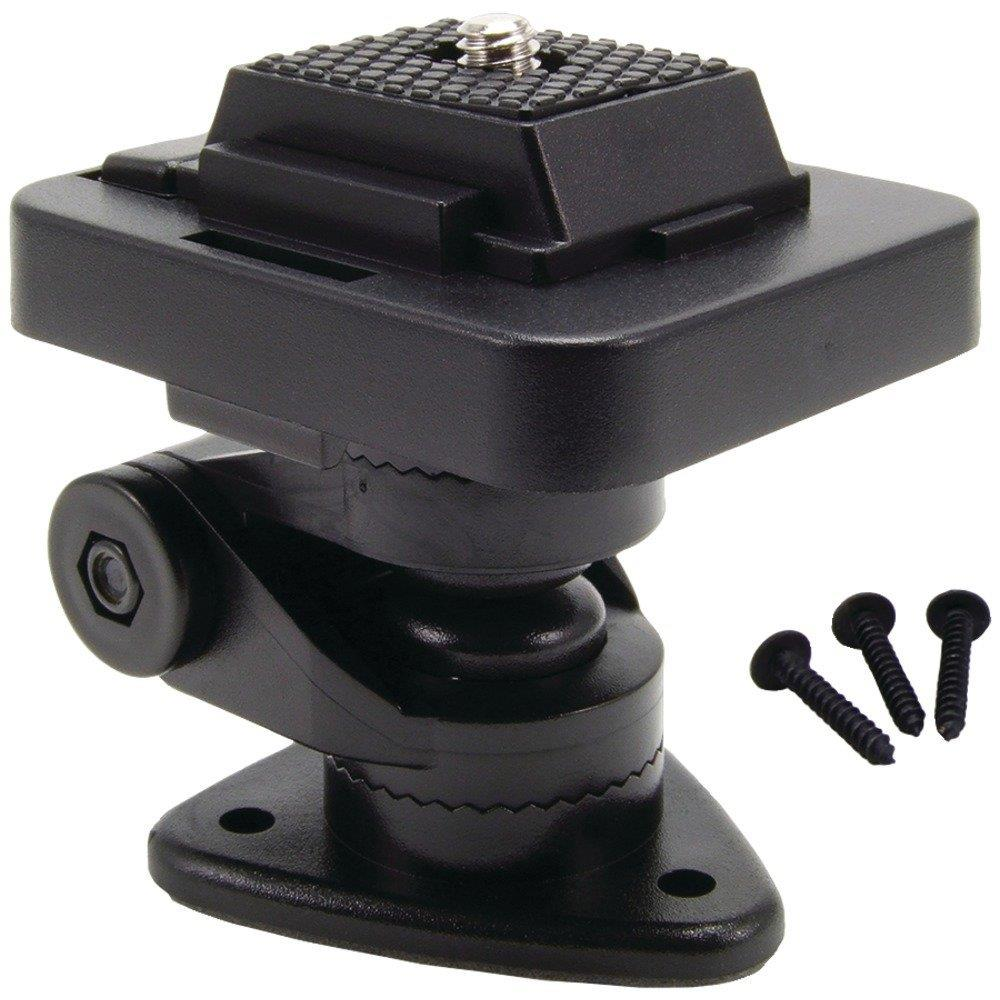"Arkon Black 1"" Multi Angle Adhesive Dashboard Mount for Cameras"
