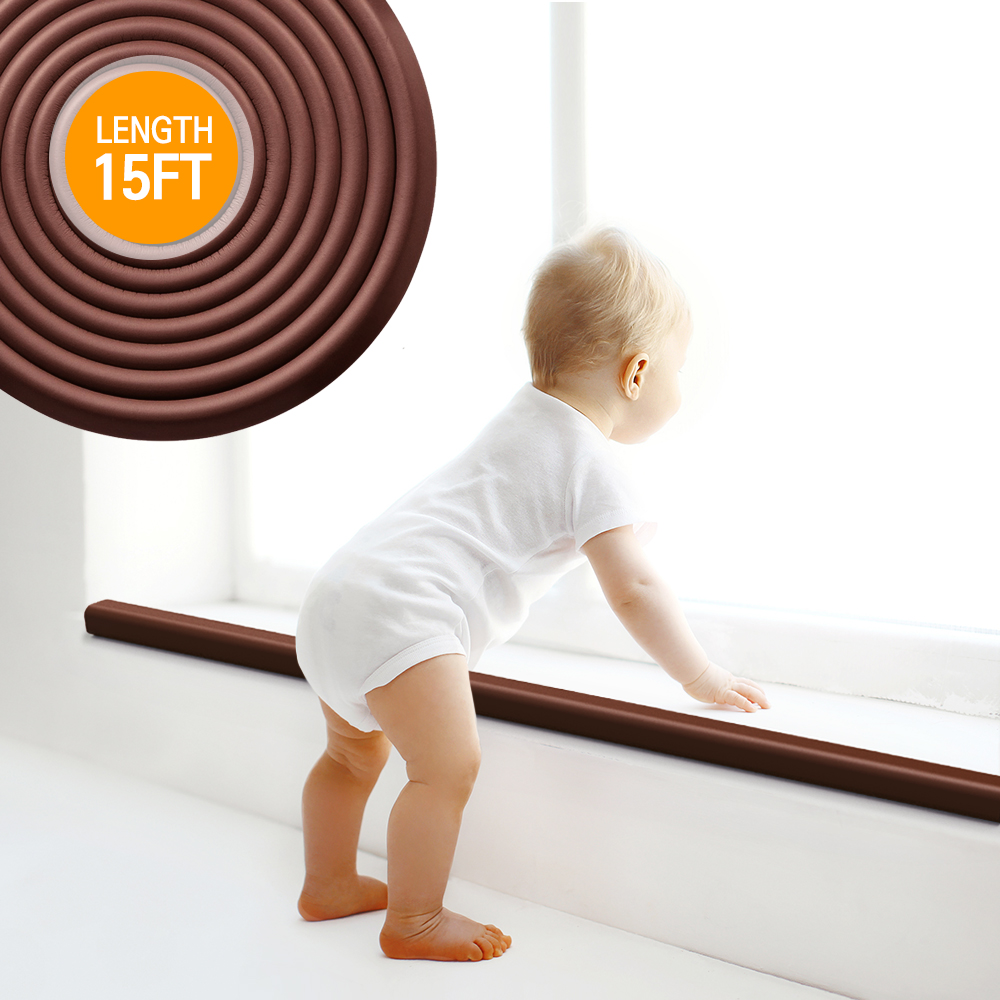 Baby Safety Corner Guard, Eutuxia® [15ft] Extra Thick w/ Bonus 4 Edge Protectors