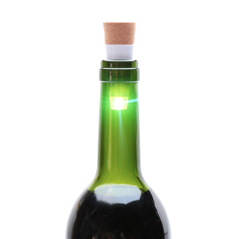 USB Powered Rechargeable Cork Light Wine Bottle Stopper