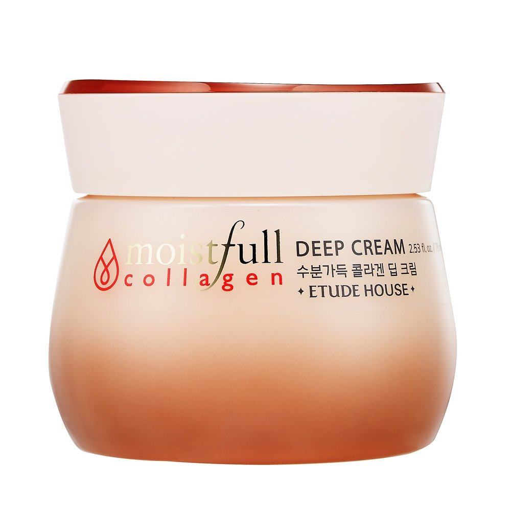 [ETUDE HOUSE] Moistfull Collagen Deep Cream, 75ml/2.53 Ounce