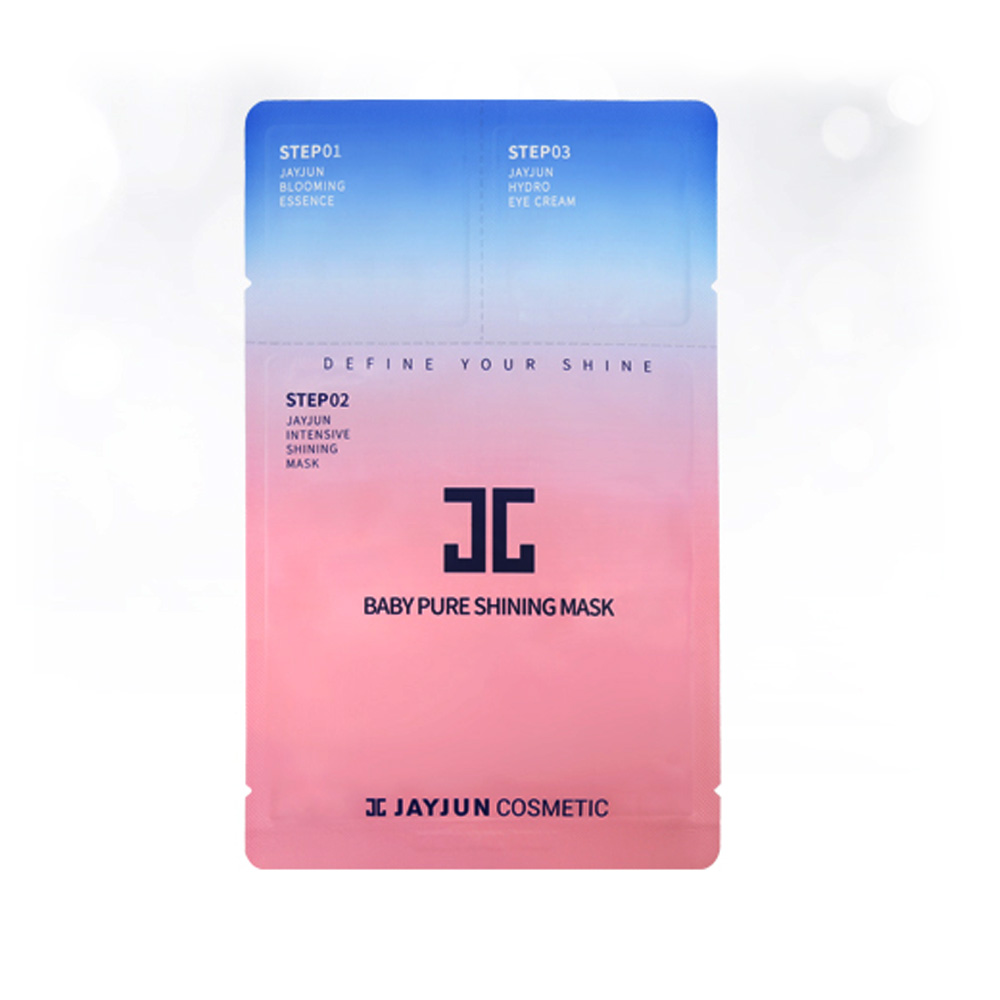 [JAYJUN] Baby Pure Shining Facial Mask Sheet X10 Pack